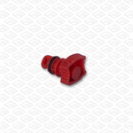 BREATHER VALVE (RED, NON-THREADED)