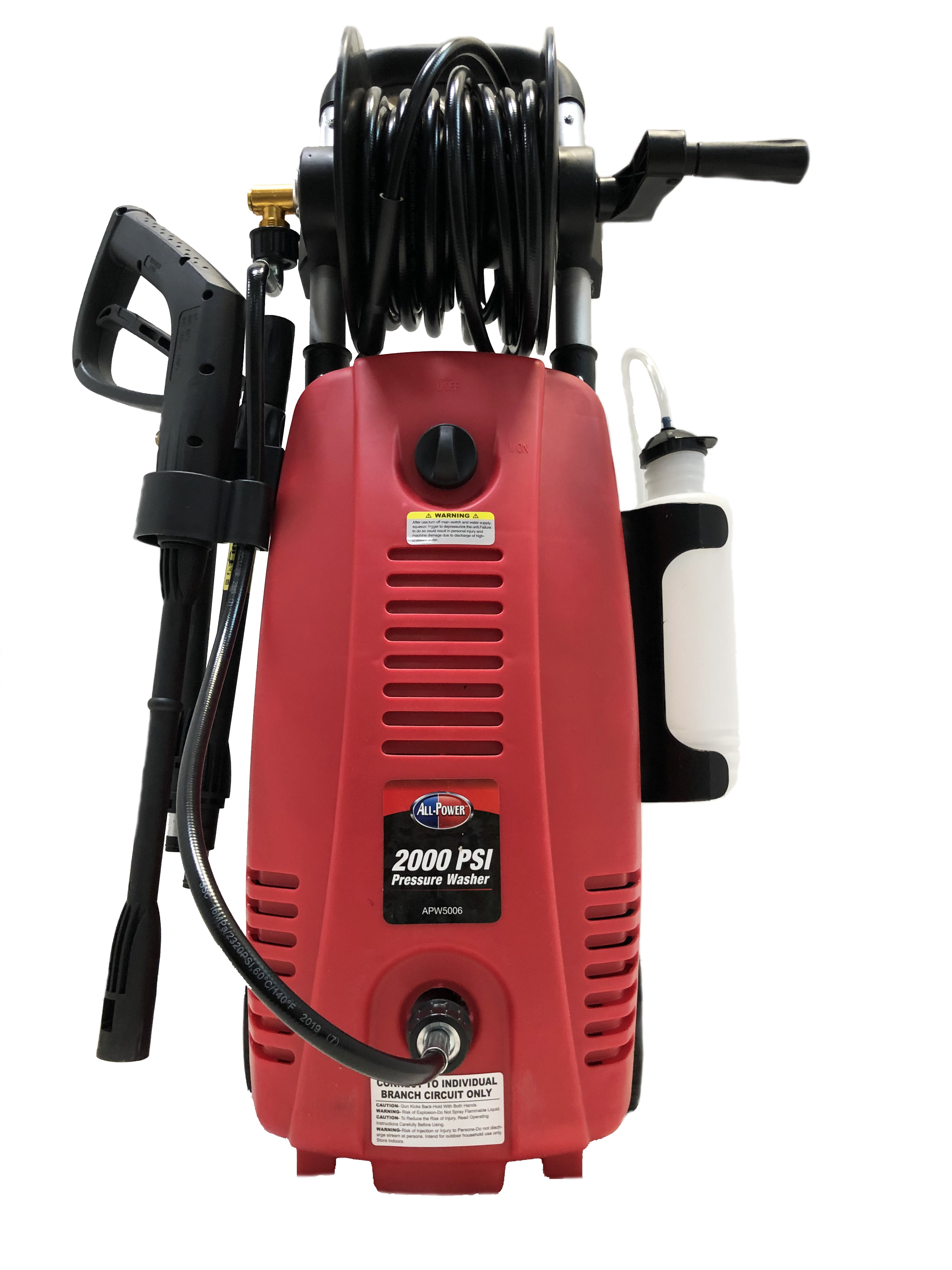 Greenworks 2000 Psi Electric Pressure Washer Parts Manual Guide