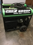 Gentron Pro 2 6,000 Watt Propane Portable Generator Product Manual (Pro 2 6,000WP)