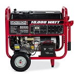 Gentron 10,000 Watt Electric Start Portable Generator Product Manual (GG10020)