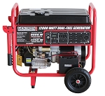 Gentron 12,000 Watt Electric Start Dual Fuel Portable Generator Product Manual (GG12000GL)