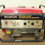 King Craft 2,000 Watt Portable Generator Product Manual (KINGCRAFT8166-11)