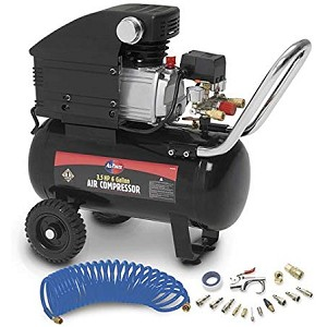 All Power 6 Gallon Air Compressor Product Manual (APC4016)