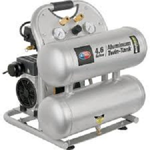 All Power Quiet Zone Twin Tank 4.6 Gallon Air Compressor Product Manual (APC4406)