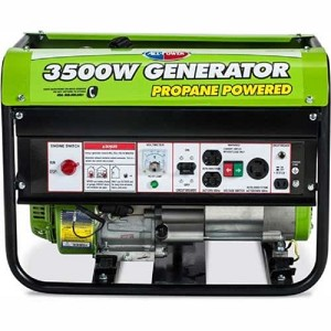 All Power 3,500 Watt Portable Propane Generator Product Manual (APG3535CN)