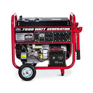All Power 7,500 Watt Electric Start Portable Generator Product Manual (APGG7500)
