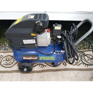 King Craft 3.5 HP 6 Gallon Air Compressor Product Manual (6851-09KINGCRAFT)