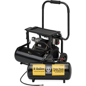 Steele Products Twin Tank 8 Gallon Air Compressor Product Manual (SP-CE358TM)