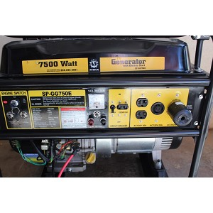 Steele Products 7,500 Watt Portable Generator Product Manual (SP-GG750E)
